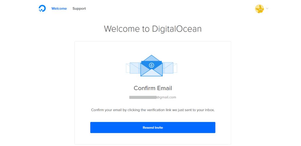 Confirmação-digital-ocean-35-dolares-desconto